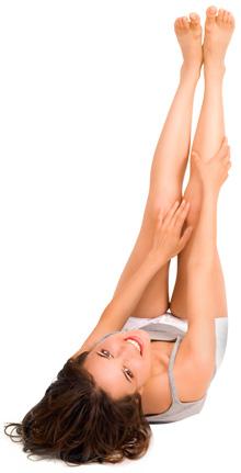 Lasersko odstranjevanje dlak pri ženski